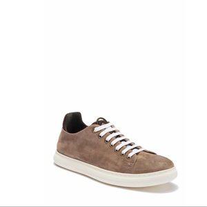 Donald Pliner Pierce Suede Sneaker Tan Size 10.5